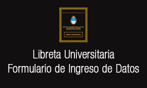 Libreta Universitaria - Formulario de Ingreso de Datos